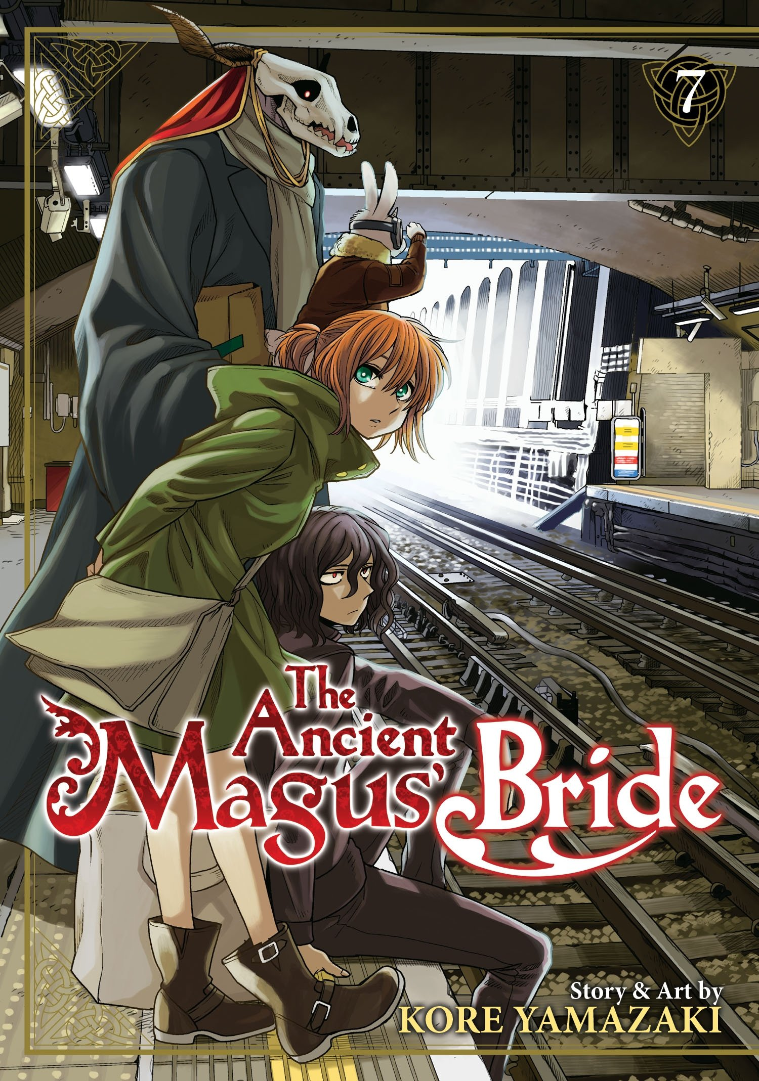 Ancient Magus' Bride Vol. 7, The: lullaby, and good night (The Ancient Magus'  Bride): Amazon.co.uk: Yamazaki, Kore: 9781626924994: Books