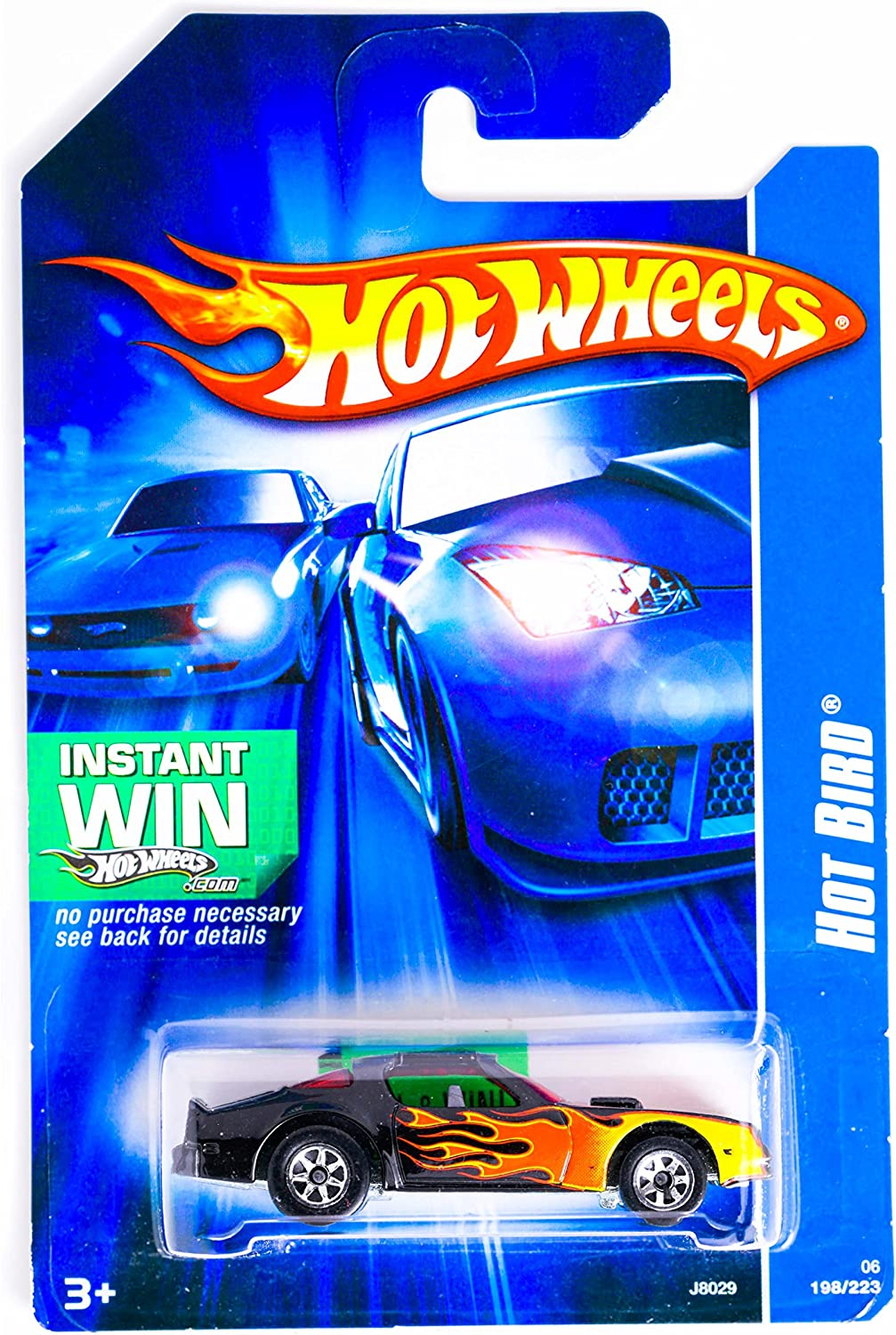 #2006-214 Poison Arrow Instant Win Card Collectible Collector Car Mattel Hot Wheels