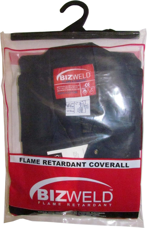 Portwest BIZ1ORRXXL Bizweld Flame Resistant Coverall Regular Orange Size: XX-Large
