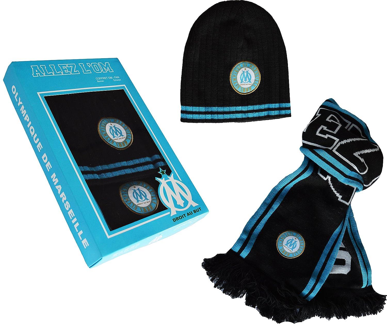 offizielle Kollektion von Olympique de Marseille OM-Set Schal und Mütze OM-Set Schal und Mütze
