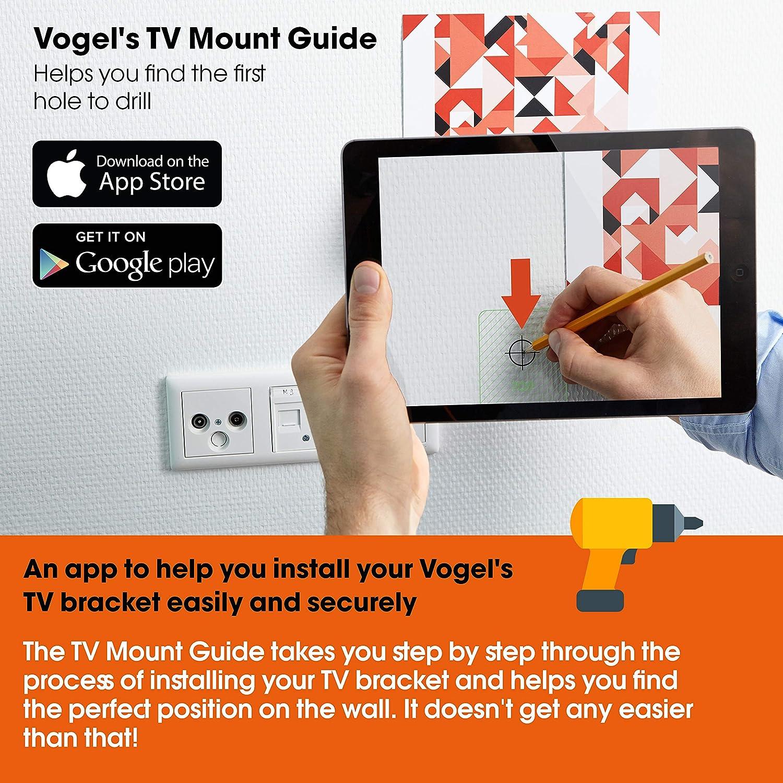 Vogels THIN 445 Negro, Soporte de pared para TV 26: Vogels: Amazon.es: Electrónica