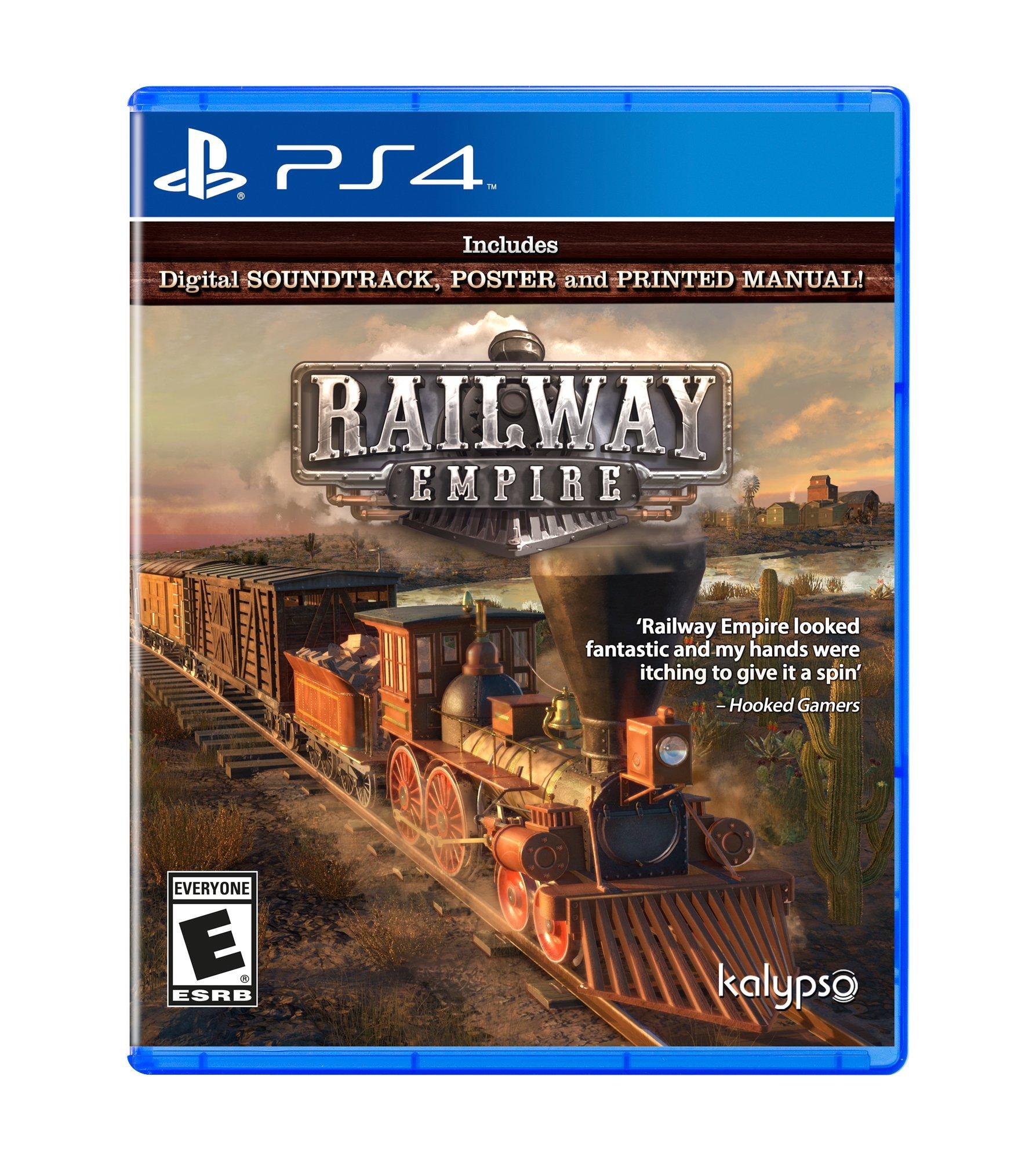 Railway Empire PlayStation 4 - PlayStation 4