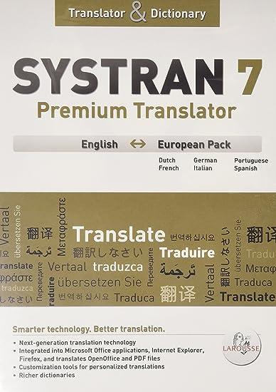 systran 7 premium translator
