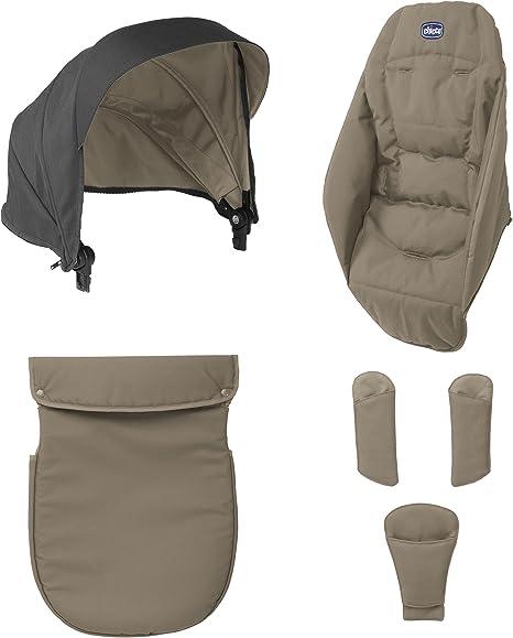 Chicco Urban Color Pack - Kit de accesorios para silla de paseo, color beige: Amazon.es: Bebé