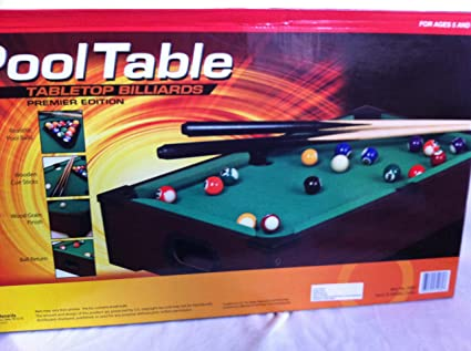 Charmant POOL TABLE TABLETOP BILLIARDS PREMIER EDITION