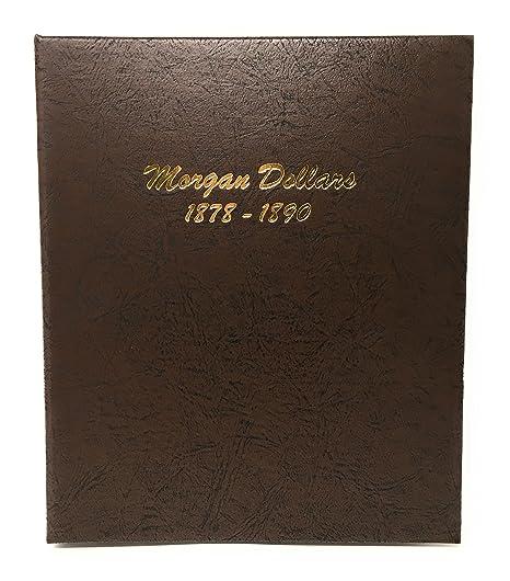 Dansco US Morgan Dollar Coin Album 1878 - 1890 #7178