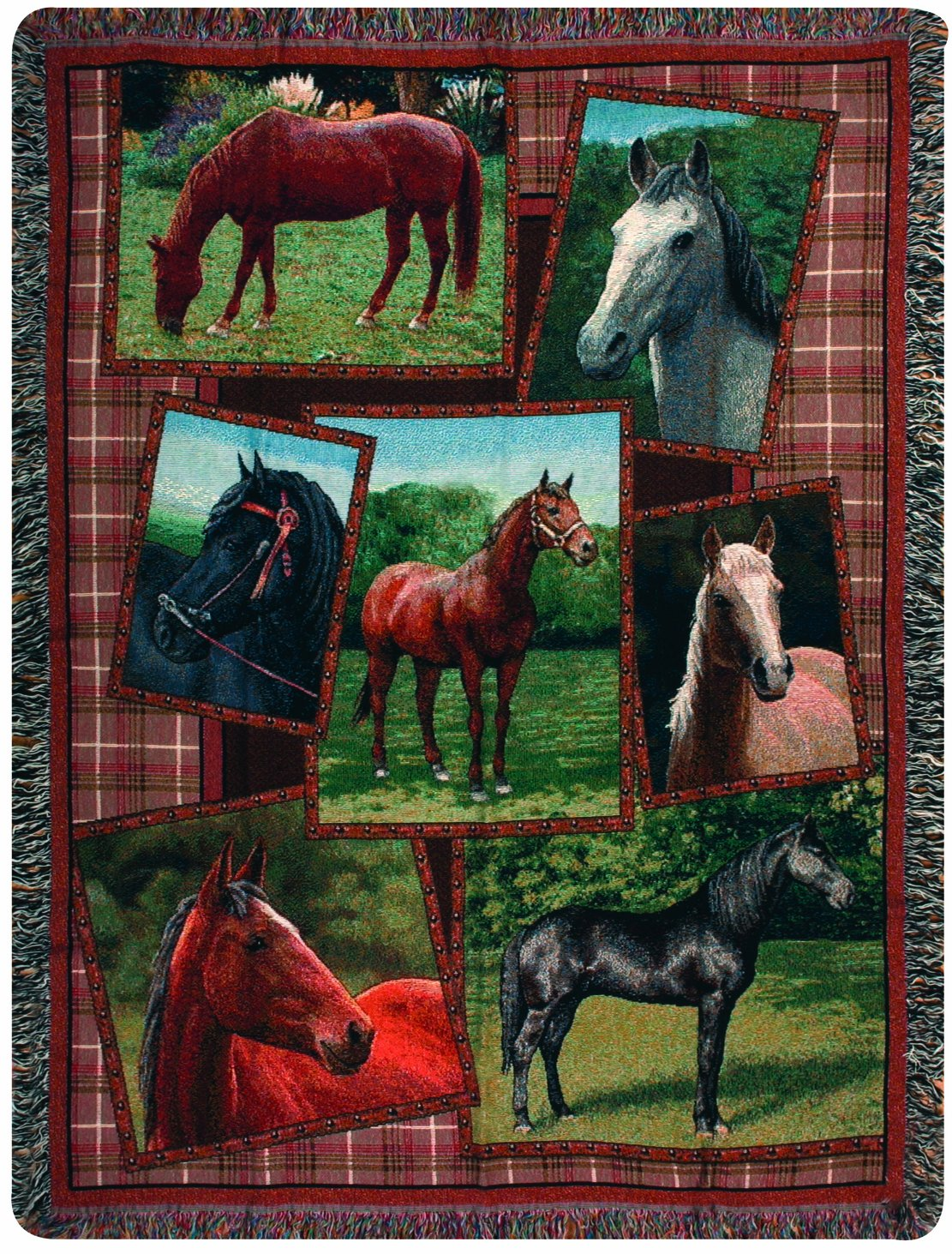 Bedding Blankets & Throws Manual Western Dcor Collection 50 x 60 ...