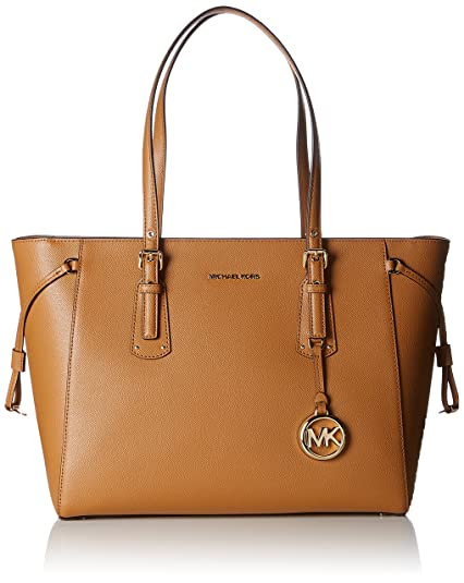 df37e34cfa88 Michael Kors Womens Voyager Tote Brown (Acorn): Amazon.co.uk: Shoes ...