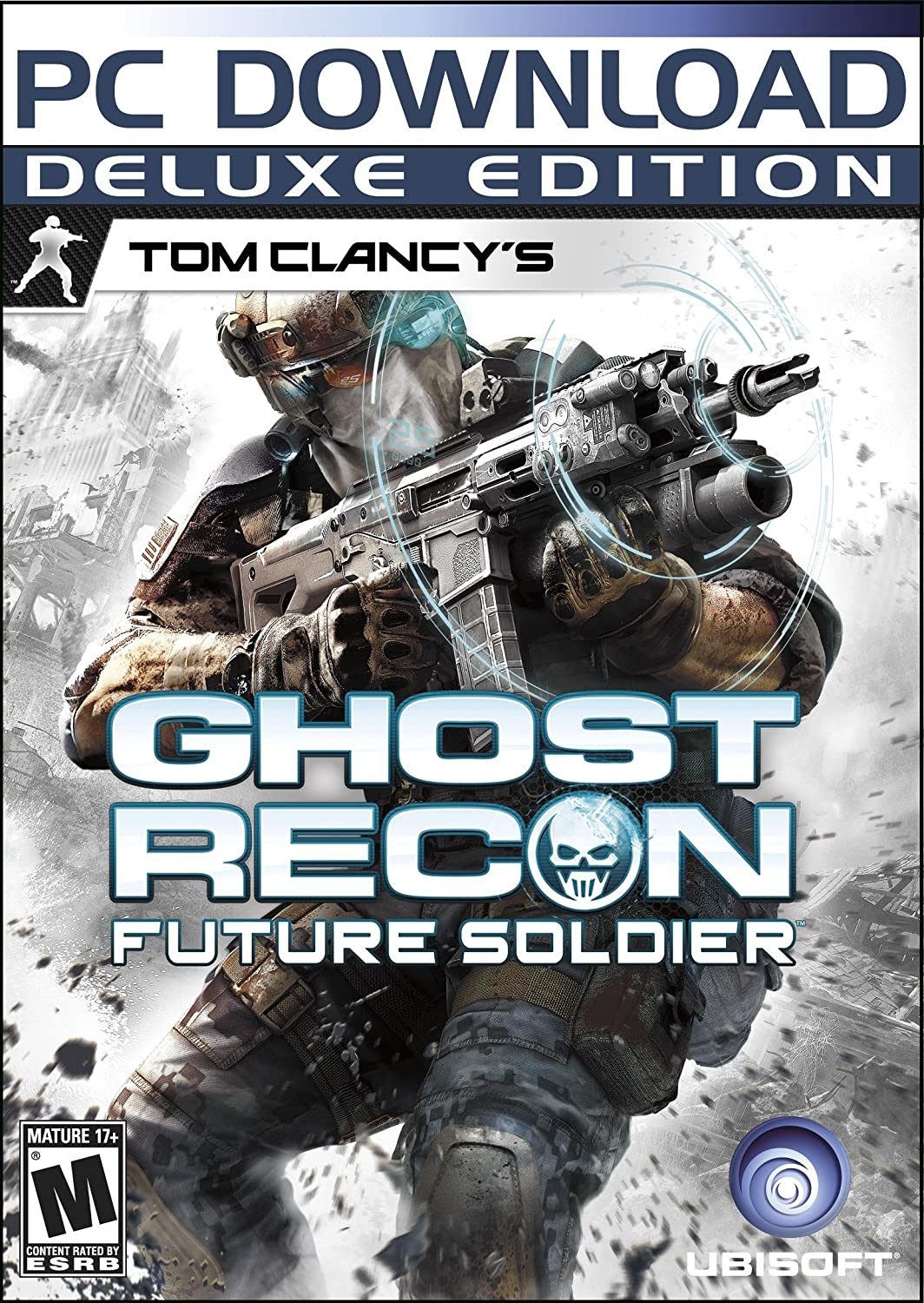 Tom Clancys Ghost Recon Future Soldier Xbox 360 Kaset Bd Game Ps4 For Honor Deluxe Edition  Only Reg 3 Ubisoft Video Games