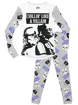 Star Wars Girls Pajamas Size 8