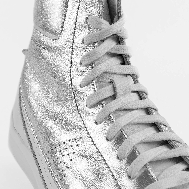 ACBC sneaker, high top, compatibel met zool, voor het maken van originele en gepersonaliseerde schoenen voor reizen, sportschool en vrije tijd Zilver. 7C95lgV7