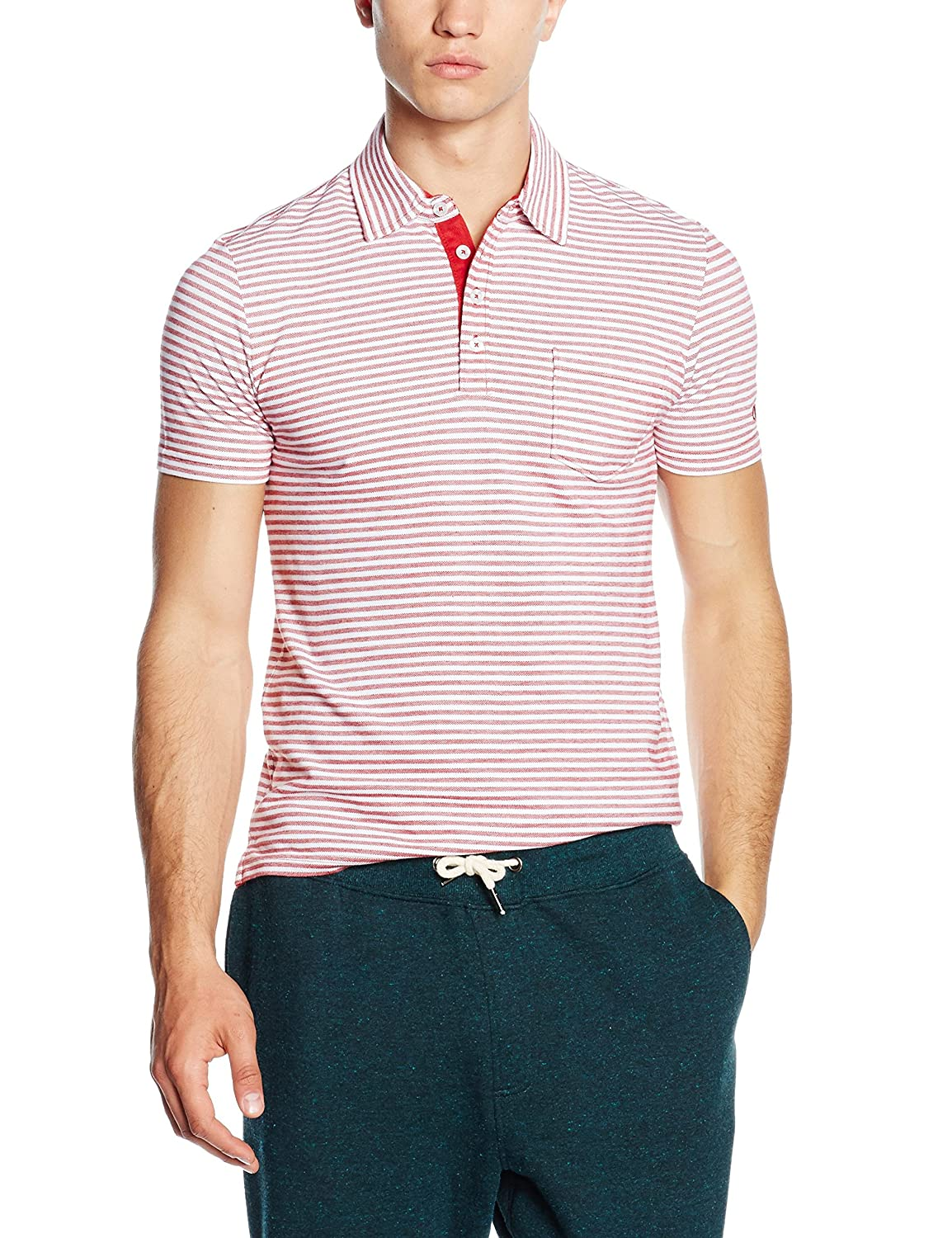 Champion 209599_S16 - Polo para Hombre (Talla XXL), Color Verde ...