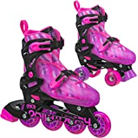 Roller Derby Flux Girls Inline/Roller Combo Skate Small, 12-2