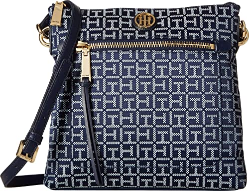Tommy Hilfiger Womens Shannon Crossbody Navy/White One Size
