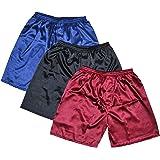 Tony & Candice Men's Satin Boxers Shorts Combo Pack Underwear