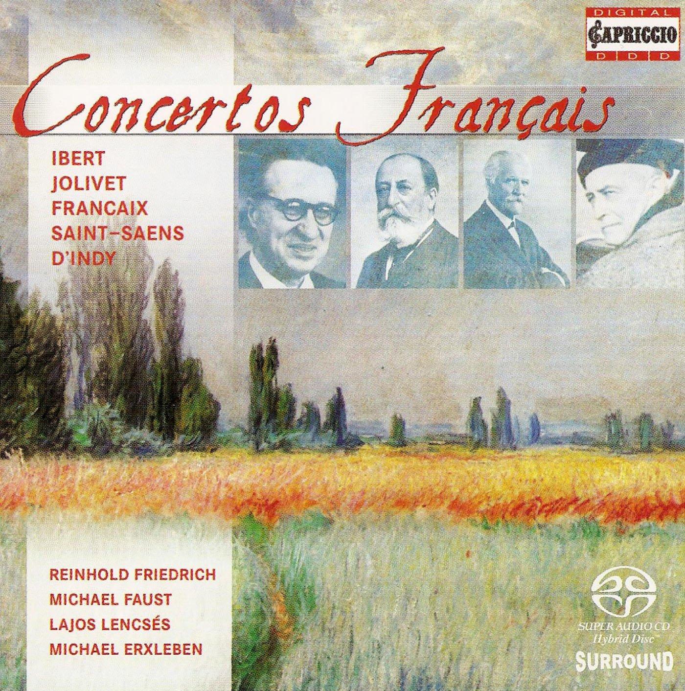 SACD : Concertos Francais / Various (Hybrid SACD)