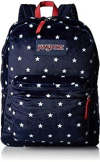 921bd529bf JanSport Unisex High Stakes Navy Moonshine Star Spangled Plush Backpack