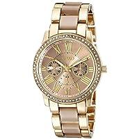 XOXO Women's XO5873 Yellow- and Rose Gold-Tone Watch