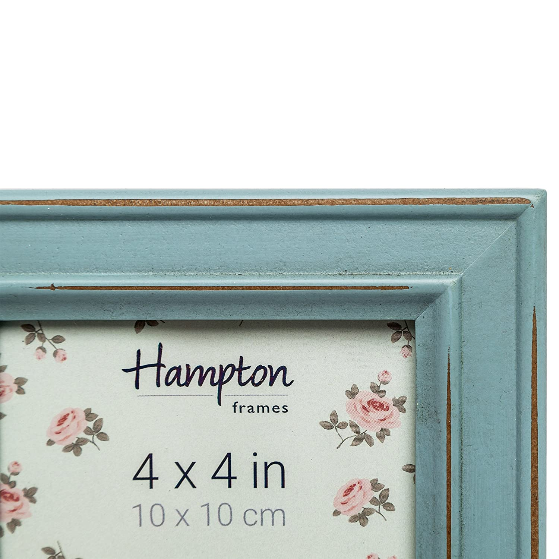 Amazon.de: Hampton Frames Paloma Bilderrahmen, Holz, Hellblau, 14, 5 ...