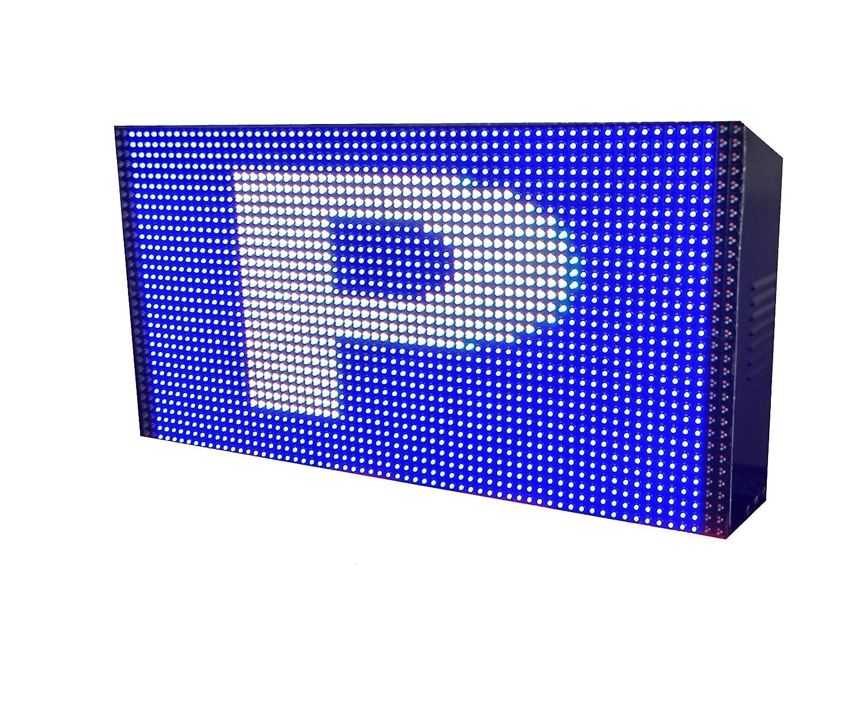 Rótulo LED programable Parking (64x32 cm Doble Cara ...
