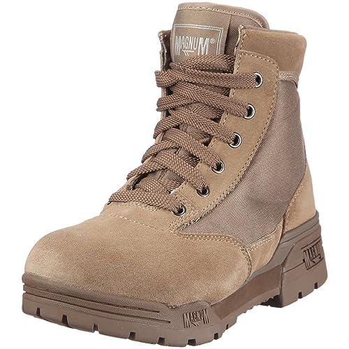 62c257e8153 Magnum Hi Tec CLASSIC MID Mud Boots Suede Leder Stiefel Braun ...