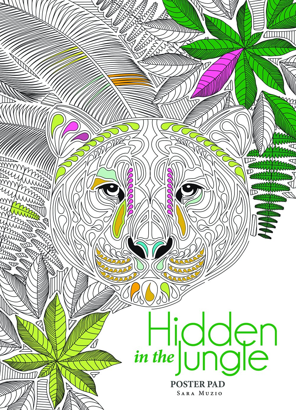 Hidden in the Jungle Poster Pad PDF