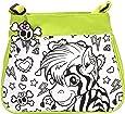 Wild Republic 10715 - Fashion Bag Grün Motiv Afrika zum selbst gestalten mit Schlüsselanhänger, 32 Teile