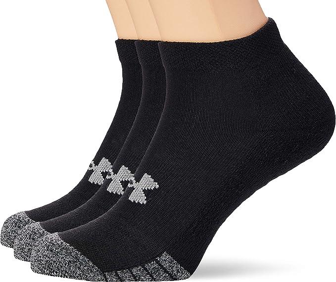 Under Armour Unisex UA Heatgear Locut, Breathable Trainer Socks LARGE 37% OFF £4.99 @ Amazon