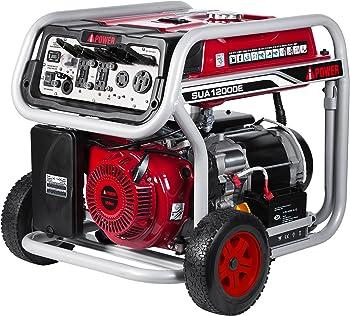 A-iPower 9,000 / 12,000 Watt Gasoline Powered Generator