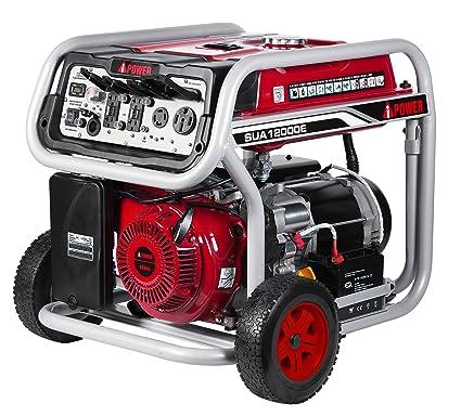 amazon com a ipower sua12000e 12 000 watt portable generator gas rh amazon com Winco 12000 Watt Generator Coleman 5000 Watt Generator
