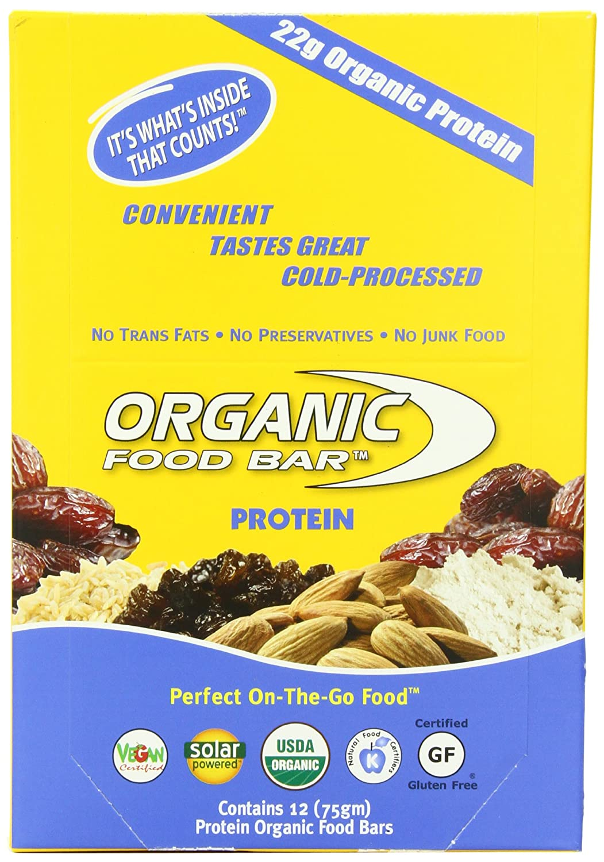 Amazon Organic Food Bar Protein