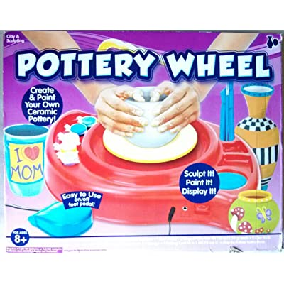 Horizon Pottery Wheel Create & Paint Your Own Ceramic Pottery: Toys & Games