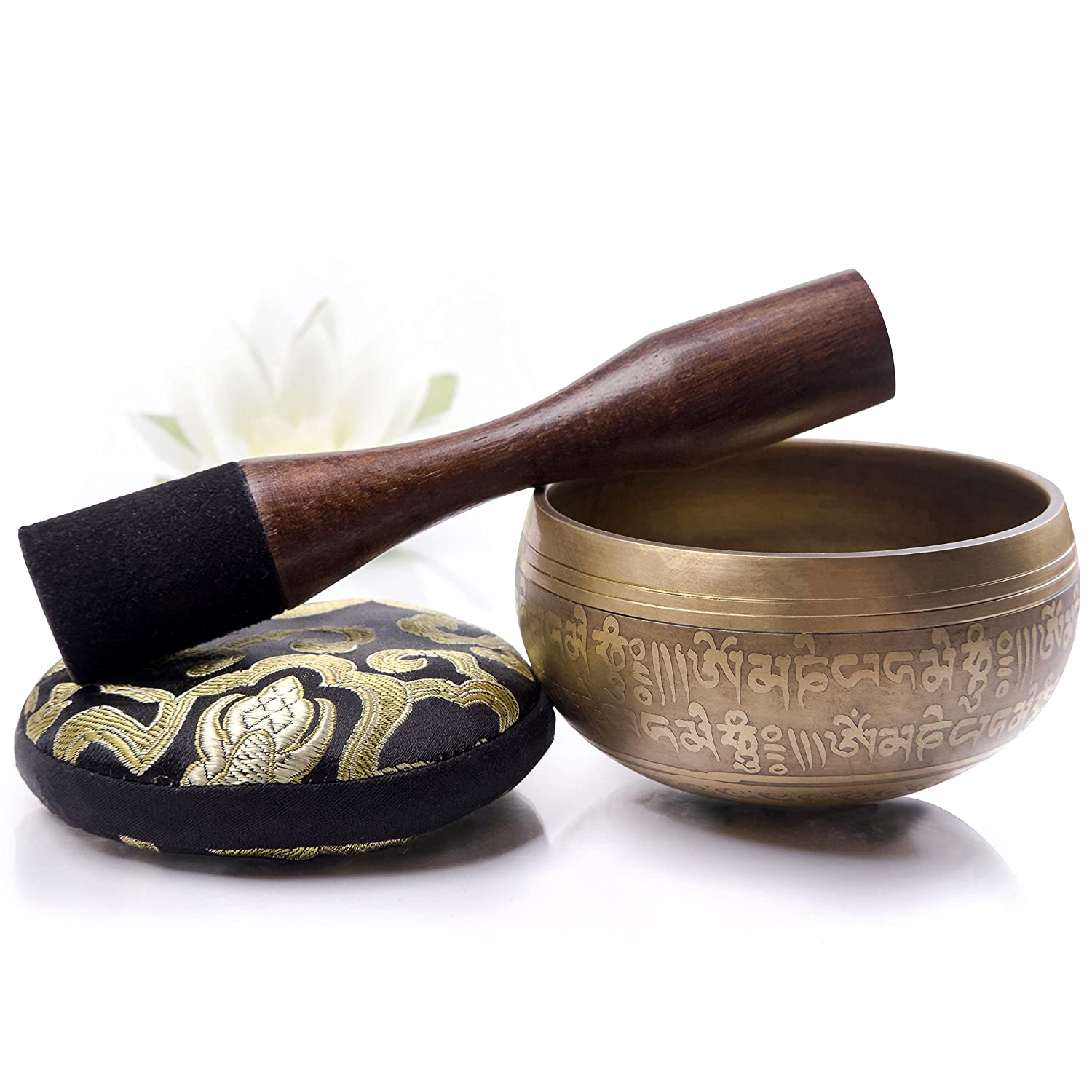 Tibetan Singing Bowl Set for Meditation