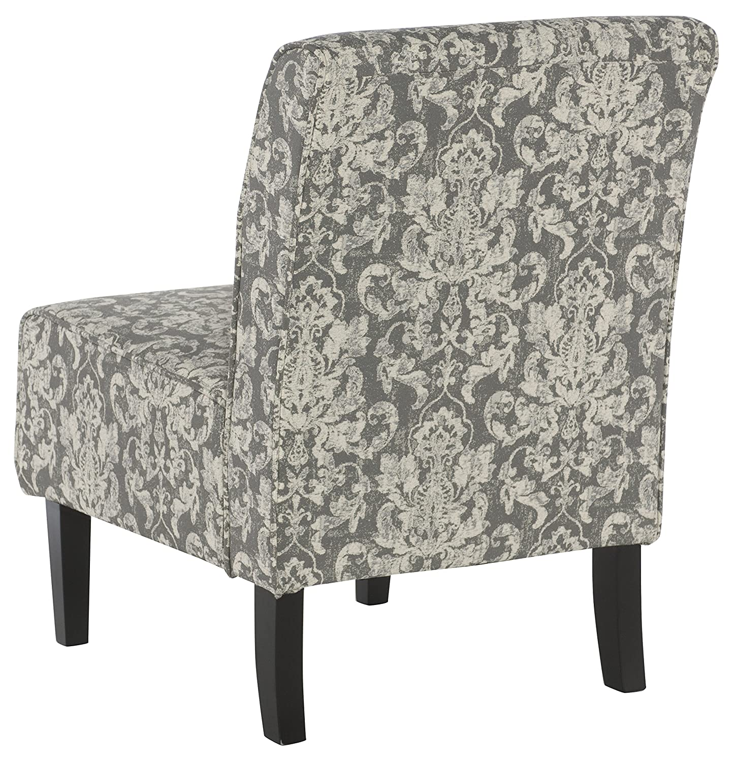 Amazon Linon Coco Accent Chair Gray Damask Kitchen & Dining