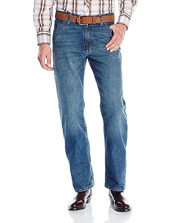 8c35ac14 Wrangler Men's 20X Cool Vantage Competition Relaxed Fit Storm Blue Jean,  Storm Blue, 27x34