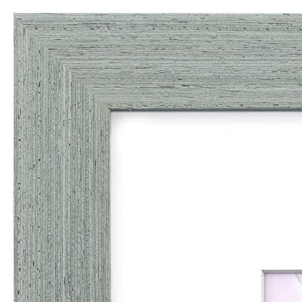 Amazon.com - 18x24 Picture Frame Grey Barnwood - Matted for 12x18 ...
