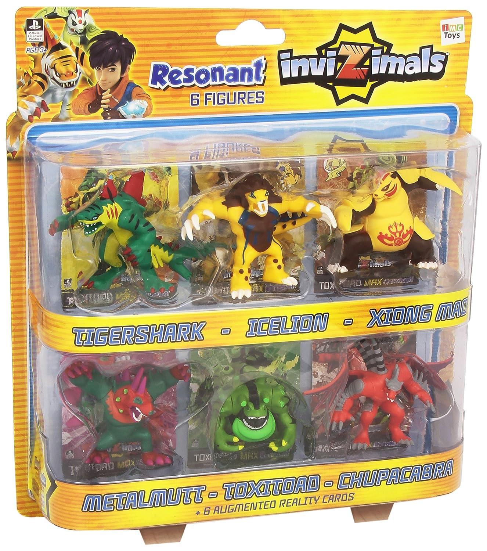 IMC Toys Invizimals - Figuras Resonantes Pack 6 Invizimals