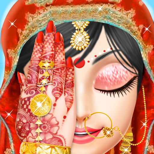 Indian Bride Makeover Salon And Hand Art -