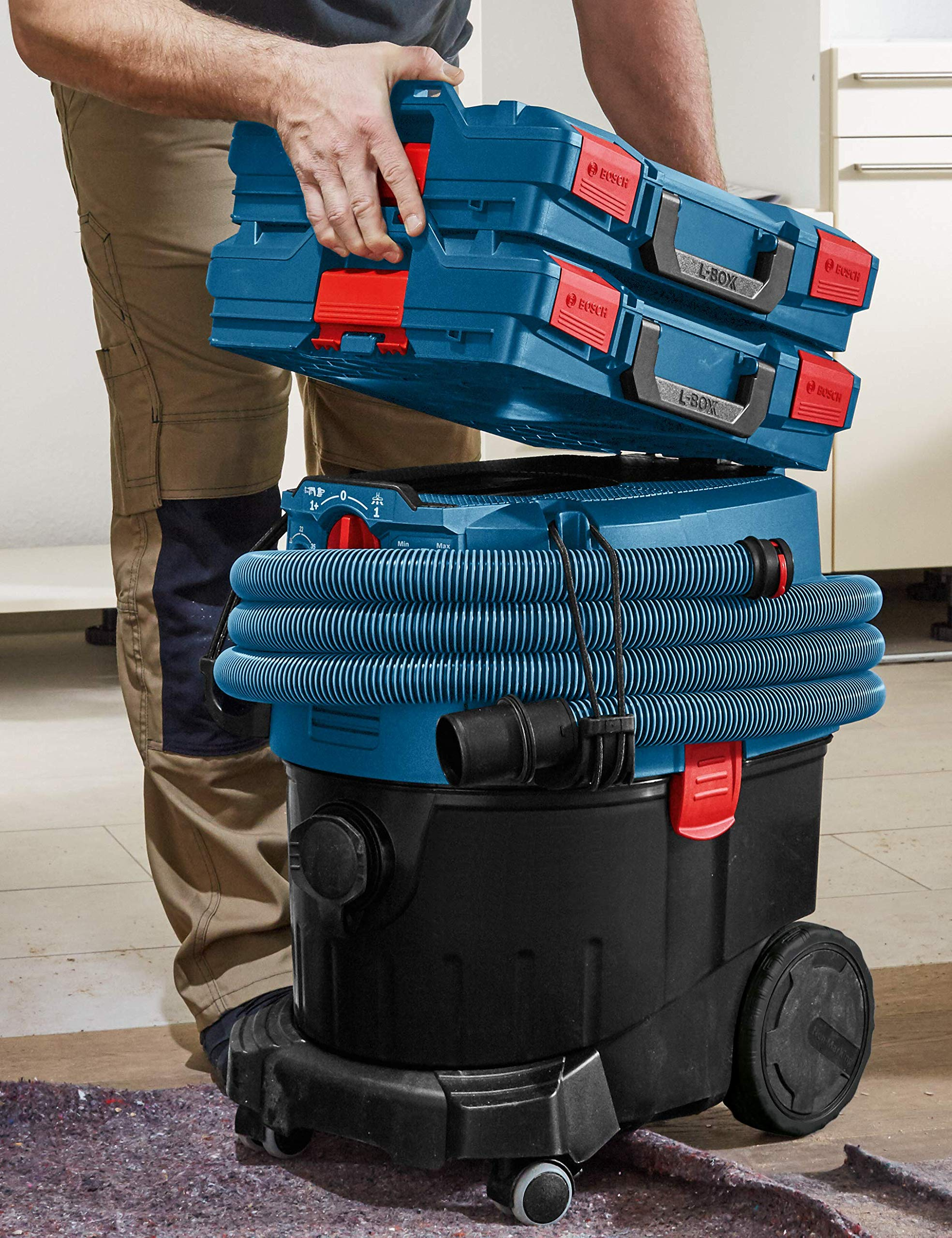 Bosch L-BOXX-1 4.5 In. x 14 In. x 17.5 In. Stackable Tool Storage Case by Bosch (Image #4)