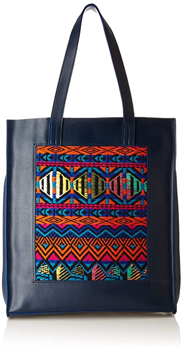93f8e1bfe2f0f Kanvas Katha Women s Tote Bag (Multi-Colour)  Amazon.in  Shoes ...