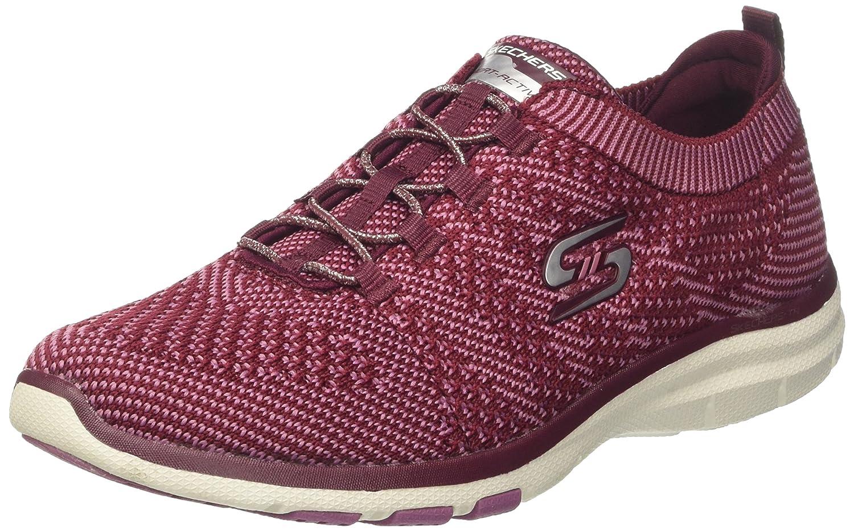 Skechers Sport Women's Galaxies Fashion Sneaker B01LY38EMS 6 B(M) US|Blue/Pink