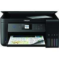 Epson EcoTank ET-2750 3-in-1 Tintenstrahl Multifunktionsgerät (Kopierer, Scanner, Drucker, DIN A4, Duplex, WiFi, Display, USB 2.0, großer Tintentank, hohe Reichweite)