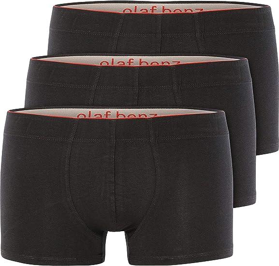 Olaf Benz 1-01113, Calzoncillo Para Hombre, Pack de 3