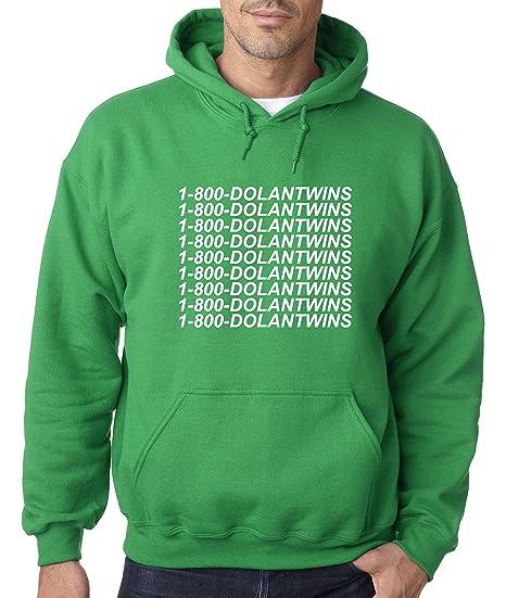 e276af729 Amazon.com: New Way 761 - Adult Hoodie 1-800-DOLANTWINS Dolan Twins Unisex Pullover  Sweatshirt: Clothing