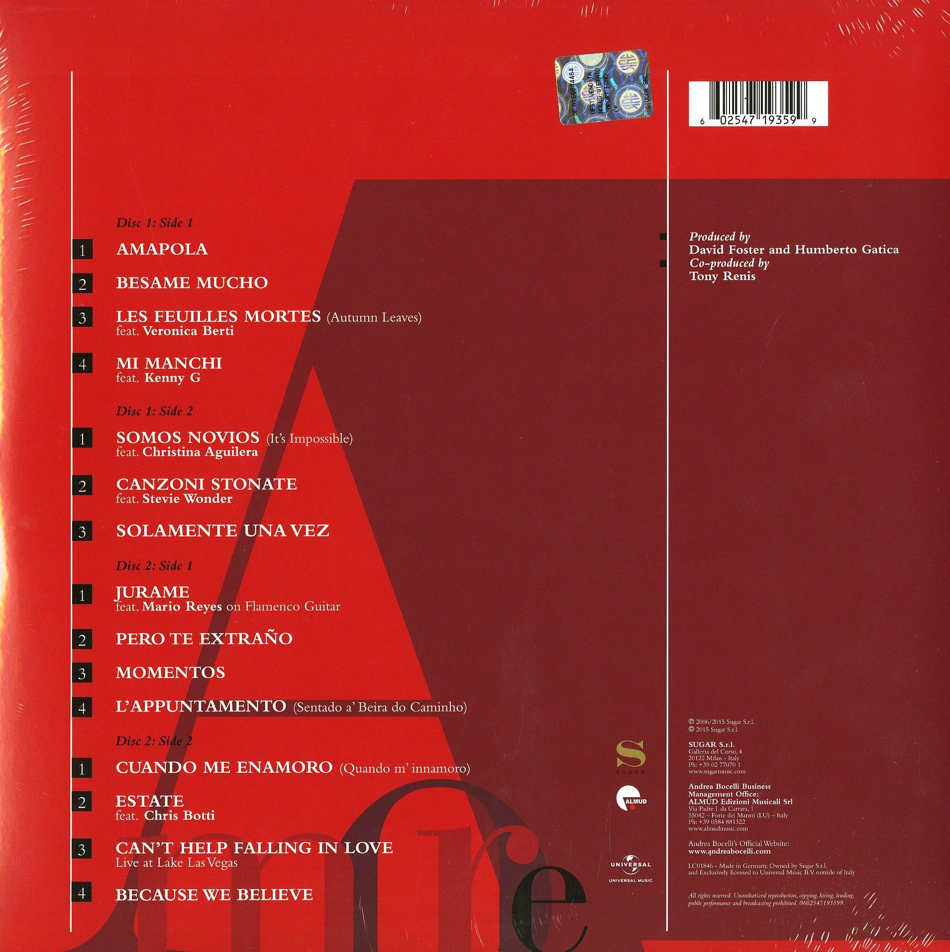 Amore [2 LP] by VINYL