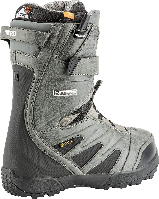 Nitro Snowboards Herren Select Clicker TLS 21 All Mountain Freeride Premium Schnellschn/ürsystem Boot Snowboardboot
