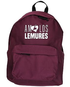 HippoWarehouse AMO LOS LEMURES kit mochila Dimensiones: 31 x 42 x 21 cm Capacidad: 18 litros: Amazon.es: Equipaje