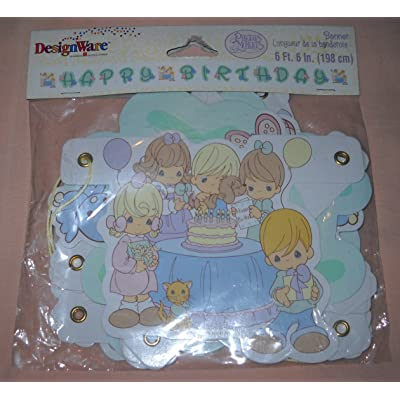 Precious Moments Happy Birthday Banner: Toys & Games