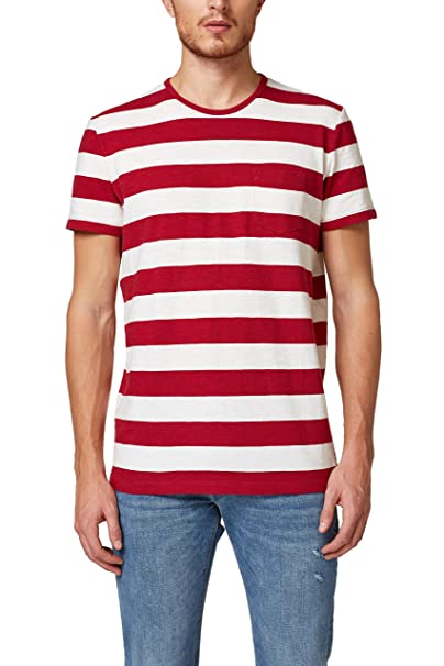 reasonably priced many fashionable competitive price ESPRIT Herren T-Shirt, 028EE2K018