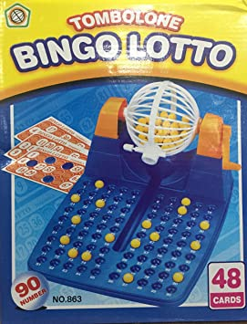 48 CartelleAmazon Toys Con 17408 Lotto es Easy Bingo tdsQhr